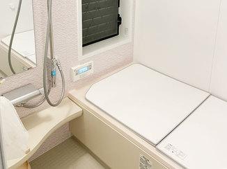バスルームリフォーム お手入れがしやすくキレイが長持ちするバスルーム