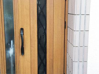 エクステリアリフォーム お部屋の寒さ暑さを解消した断熱性の窓とドア