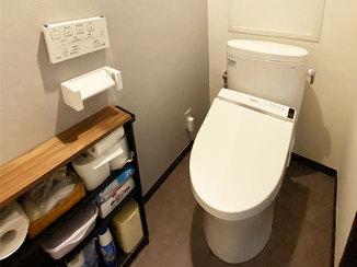 トイレリフォーム 汚れがつきにくく、節水もできるトイレ