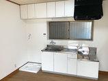 キッチンリフォーム水廻りを中心に生活しやすくした賃貸アパート