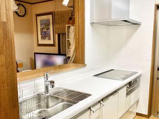 キッチンリフォーム お掃除がしやすく、食洗器が便利なキッチン