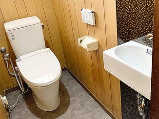 トイレリフォーム 高齢の母のためにこだわった、使いやすくて可愛いトイレ空間