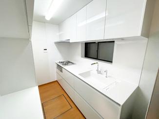 キッチンリフォーム 最高級グレードでそろえたカッコいいキッチン&バスルーム
