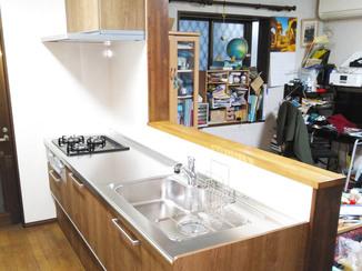 キッチンリフォーム 水漏れを解消し、快適に使えるキッチン&トイレに