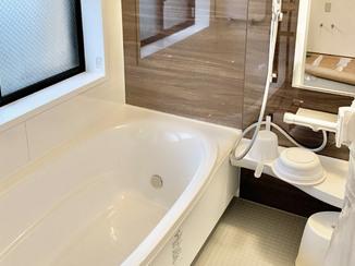 バスルームリフォーム ツールの配置にこだわり、使いやすさを追求した水廻り設備