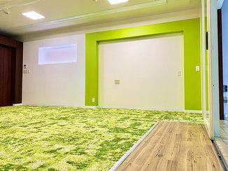 内装リフォーム 明るく爽やかな空間に生まれ変わった教室