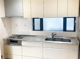 キッチンリフォーム 使い勝手がよく、家事動線を考えたキッチン
